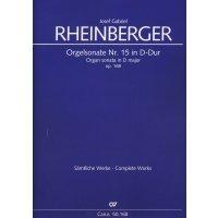 Rheinberger, Josef Gabriel - Orgelsonate Nr. 15 D-Dur op. 168