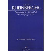 Rheinberger, Josef Gabriel - Orgelsonate Nr. 6 in es-Moll
