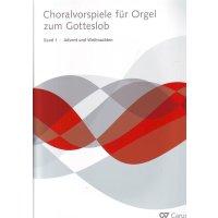 Choralvorspiele für Orgel zum Gotteslob - Band 1