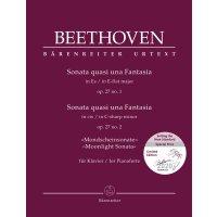 Beethoven - Zwei Sonaten für Klavier op. 27