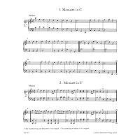 Mozart, W. A. - Die Notenbücher der Geschwister Mozart für Klavier