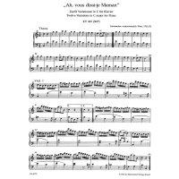 "Mozart, Wolfgang Amadeus - ""Ah, vous dirai-je Maman"" C-Dur KV 265"