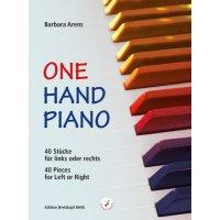 Arens, Barbara - One Hand Piano