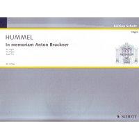 Hummel, Berthold - In memoriam Anton Bruckner, op. 91a