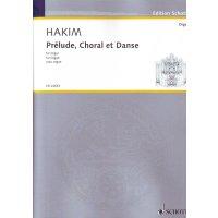 Hakim, Naji - Prélude, Choral et Danse pour orgue