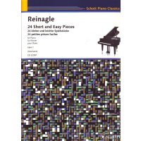Reinagle, Alexander - 24 Short and Easy Pieces