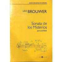 Brouwer, Leo - Sonata de los Misterios para archilaúd