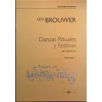 Brouwer, Leo - Danzas Rituales y Festivas Vol. 1 para guitarra