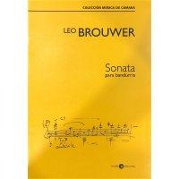 Brouwer, Leo - Sonata para bandurria
