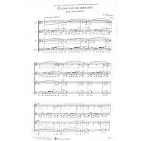 Brouwer, Leo - Cantico de Celebracion para coro mixto