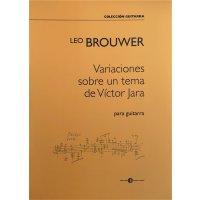Brouwer, Leo - Variaciones sobre un tema de Victor Jara