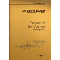 Brouwer, Leo - Sonata de los Viajeros para dos guitarras