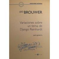 Brouwer, Leo - Variaciones sobre un tema de Django Reinhardt para guitarra