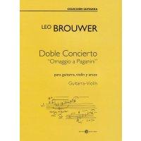 """Brouwer, Leo - Doble Concierto """"Omaggio a..."""