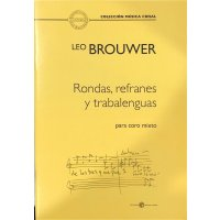 Brouwer, Leo - Rondas, refranes y trabalenguas