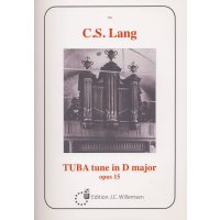 Lang, C. S. - Tuba tune in D major - opus 15