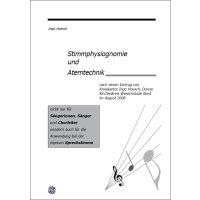Stimmphysiognomie und Atemtechnik