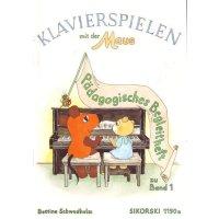 Klavierspielen mit der Maus Band 1 - Begleitheft