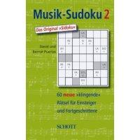 Musik-Sudoku - Band 2